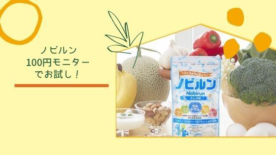 ノビルン100円モニター